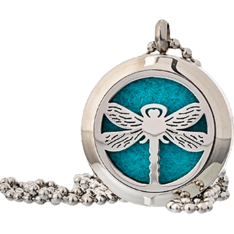 Dragonfly Aromatherapy Jewellery Necklace - 25mm